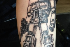 Optimus Prime. Inkhaus Tattoo.