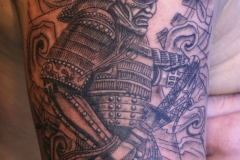 Samurai Warrior. Inkhaus Tattoo.
