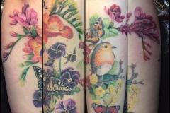 Forearm Nature Wrap Around. Inkhaus Tattoo.