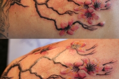 Cherry Blossom. Inkhaus Tattoo.