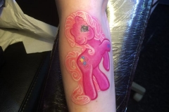 Pinkie Pie. Inkhaus Tattoo.