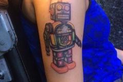 Robot. Inkhaus Tattoo.