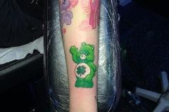 Good Luck Bear. Inkhaus Tattoo.
