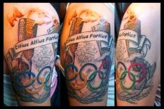 Olympics. Inkhaus Tattoo.