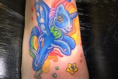 Rainbow Dash Pegasus. Inkhaus Tattoo.