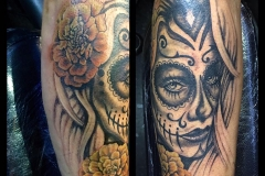Day of the Dead Sleeve Work in Progress