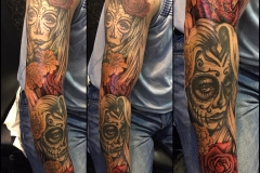 Day of the Dead Sleeve.
