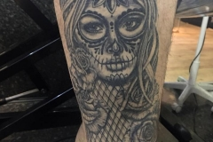Day of the Dead Girl Healed.