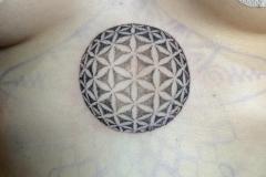 Flower of Life Sphere. Inkhaus Tattoo.