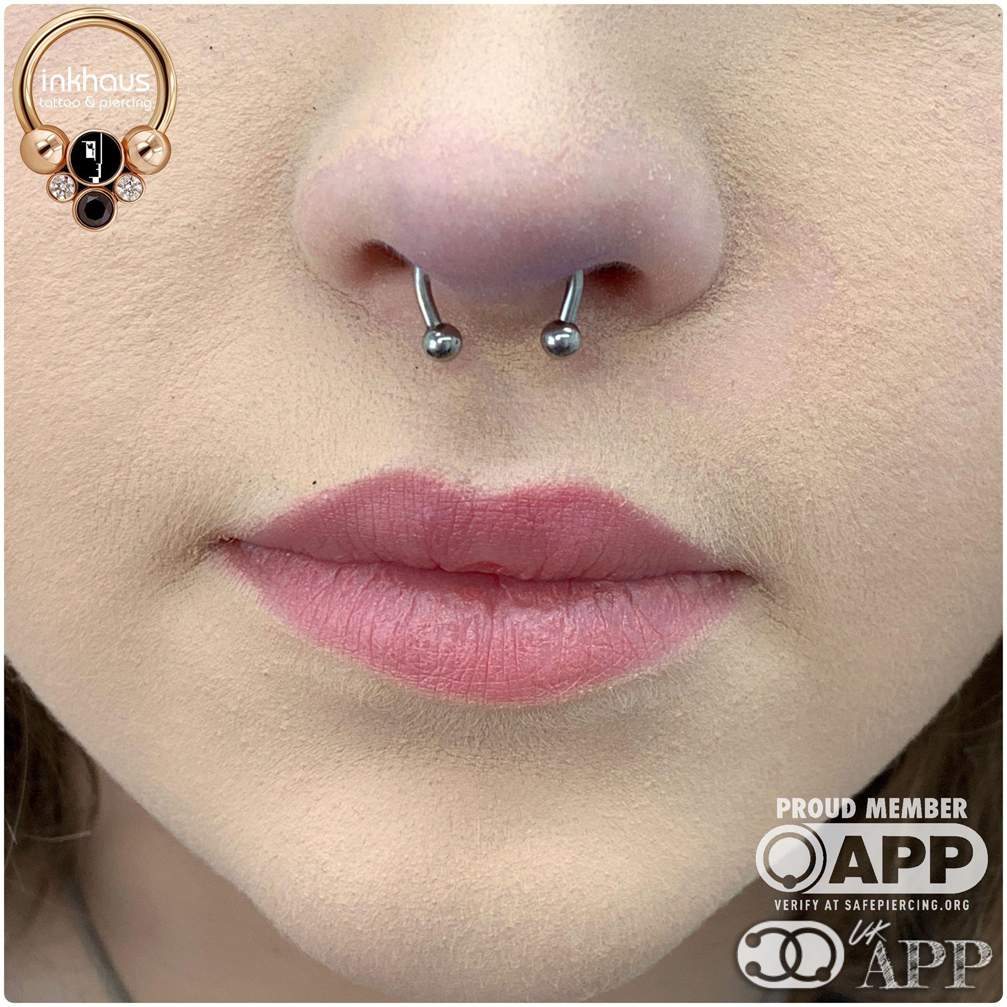 Septum Piercings Inkhaus Tattoo And Piercing