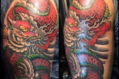Dragon Cover-up.